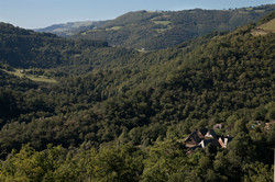 hameau dans la vallee