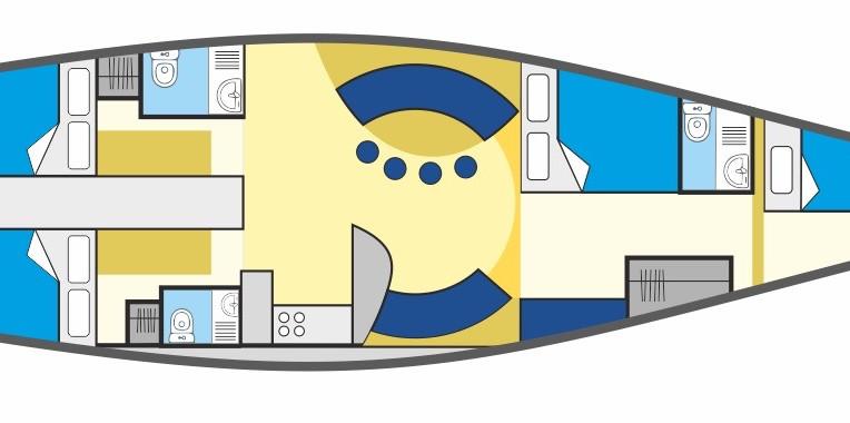 Plan de velero finot 53