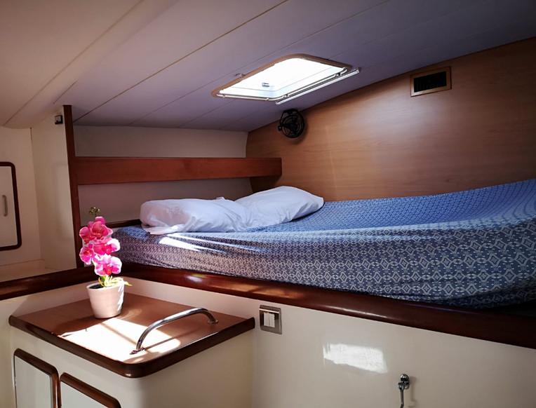 Cabine catamaran Leopard 47 2001
