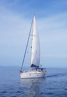 Sailing boat Bavaria 42 san blas