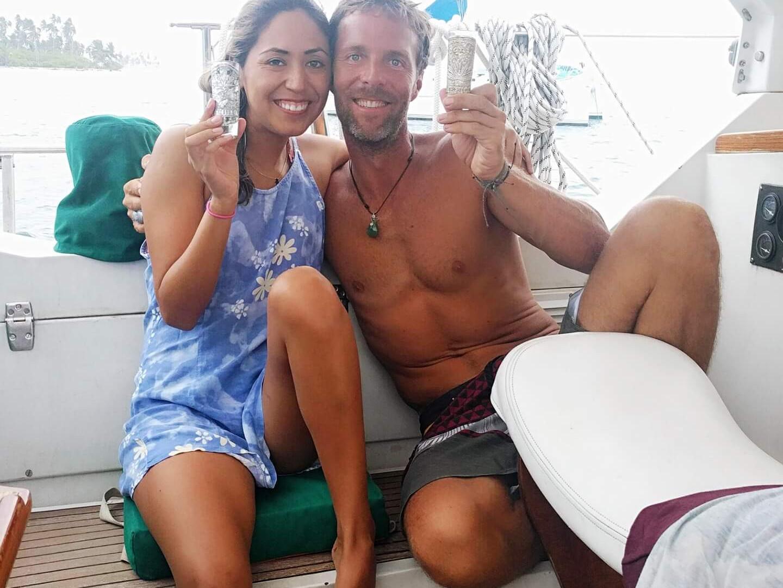 Equipo de navegación Amel Maramu 46 Panamá
