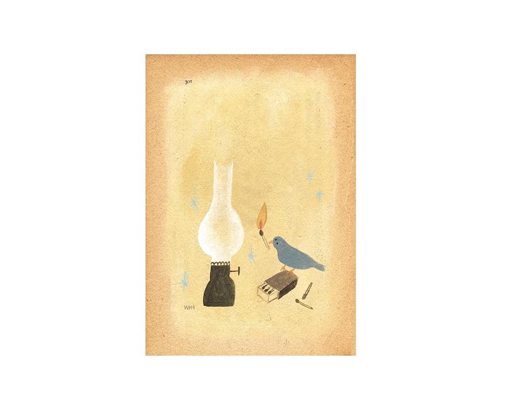 紅茶「冬の日の贈り物」/原画