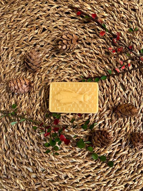 Queen Bee Beeswax Block