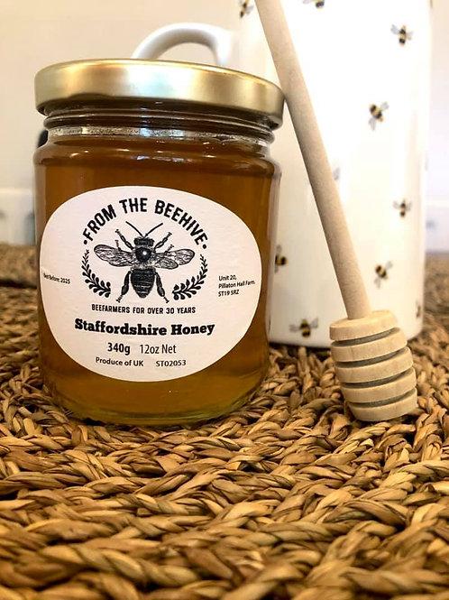 Staffordshire Runny Honey 340g