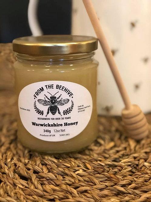 Warwickshire Set Honey 340g