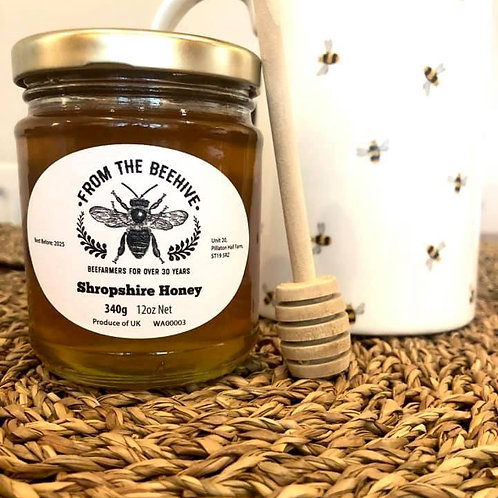 Shropshire Runny Honey 340g