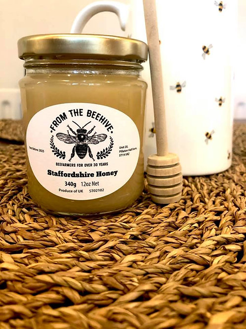 Staffordshire Set Honey 340g