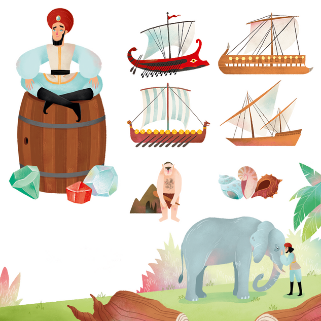 Sinbad Illustrations