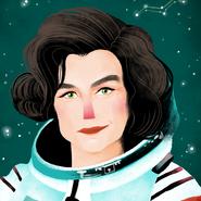 Valentina Tereshkova Portrait