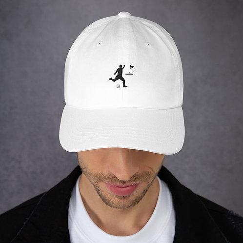 Stylisches Cap ein muss für jeden Fußballgolfer
