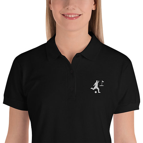 Stylisches besticktes Polo Shirt