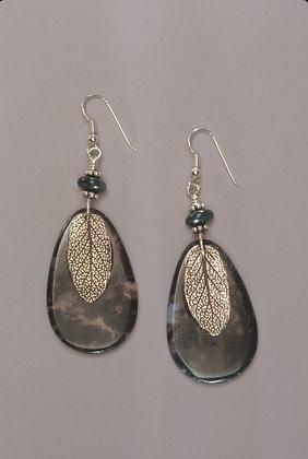 Moss Agate-Earrings
