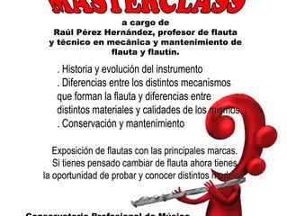 MASTERCLASS Raúl Pérez Hernández
