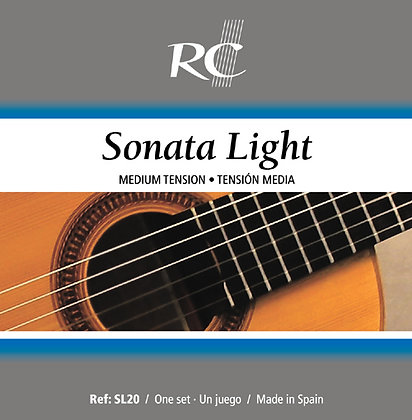 JUEGO ROYAL CLASSICS SONATA LIGHT SL20 GUITARRA