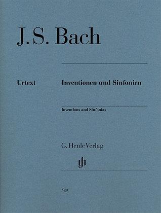 INVENCIONES Y SINFONIAS de BACH