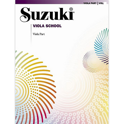 SUZUKI VIOLA REVISED EDITION