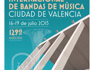 CIBM - Certamen Internacional de Bandas de Música - Valencia 2015
