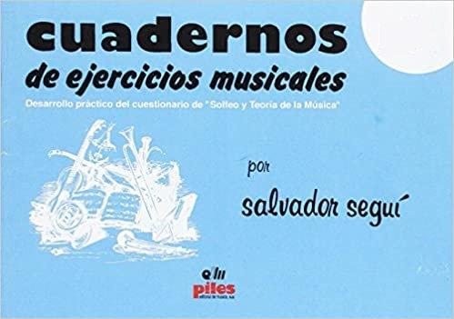 CUADERNOS DE EJERCICIOS MUSICALES