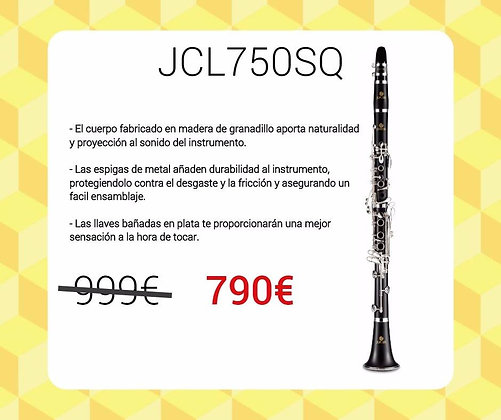 JUPITER 750SQ (JCL737S) SIb. MADERA