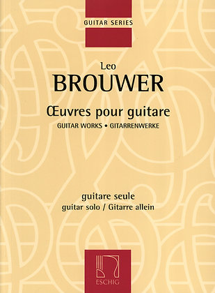 OEUVRES POUR GUITARE
