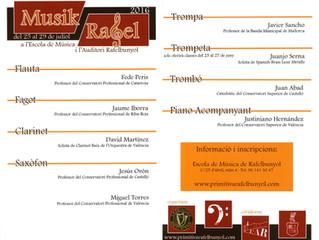 Musik Rafel '16