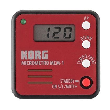 METRONOMO KORG MCM-1 MICROMETRO ROJO
