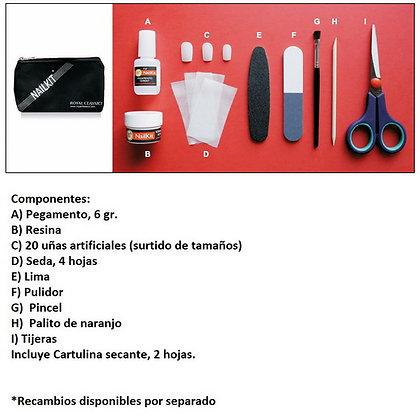NAILKIT ROYAL CLASSICS NK100 REP. UÑAS (COMPLETO)