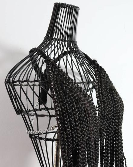 Crochet-Braided Halter Top