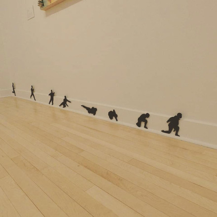 Invisible (vue d'installation/installation view)