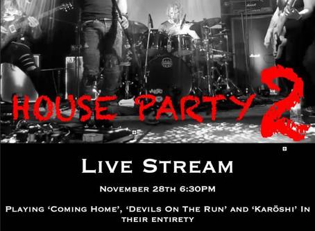 Gig Announcement - Live Stream part 2!