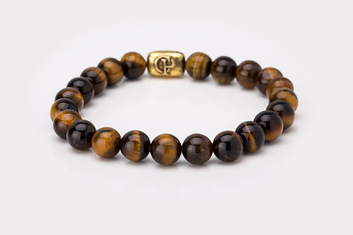 Yellow Tiger Eye - 8mm