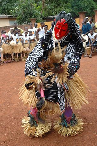 Costume rituel AKAN