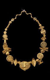 collier Or AKAN