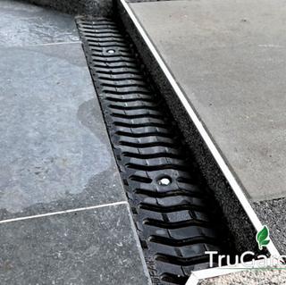Taras z płyt betonowych: detale