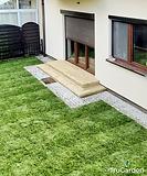 Ogród z kostką brukową - zakładanie i pielęgnacja ogrodów - Tru Garden Wiązowna