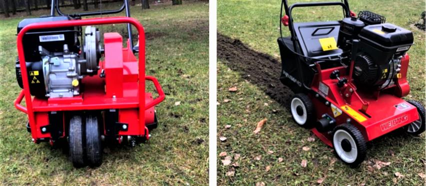 Wertykulacja i aeracja trawnika na wiosnę