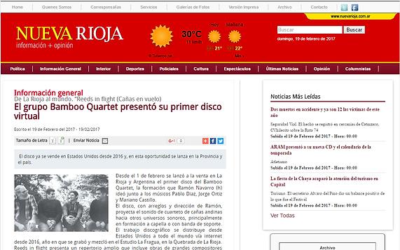 new daily note Rioja