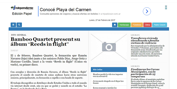 independent daily note la rioja argentina