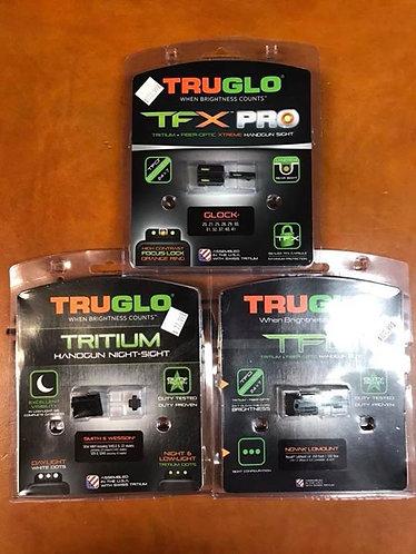TruGlo after market handgun sights