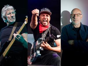 "Roger Waters, Tom Morello και Brian Eno στο ""Live for Gaza"" (10 Απριλίου)"