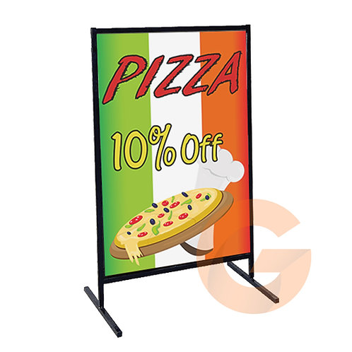 Metal T Frame Sign