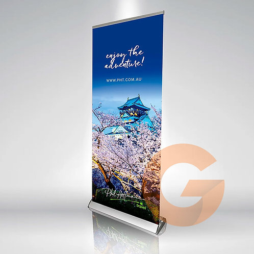 Pull Up Banner Deluxe