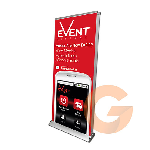 Pull Up Banner Deluxe (Double Side)