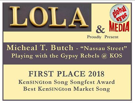 Kensington Song Songfest 2018 award.jpg