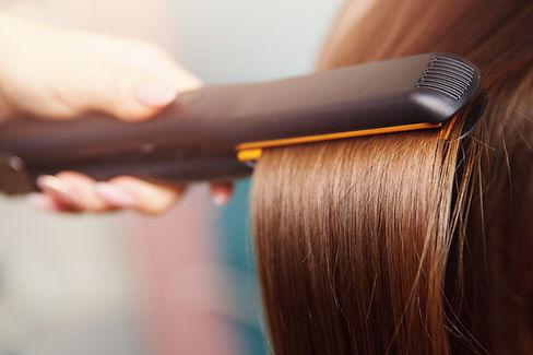 Hair iron straightening beauty care salo