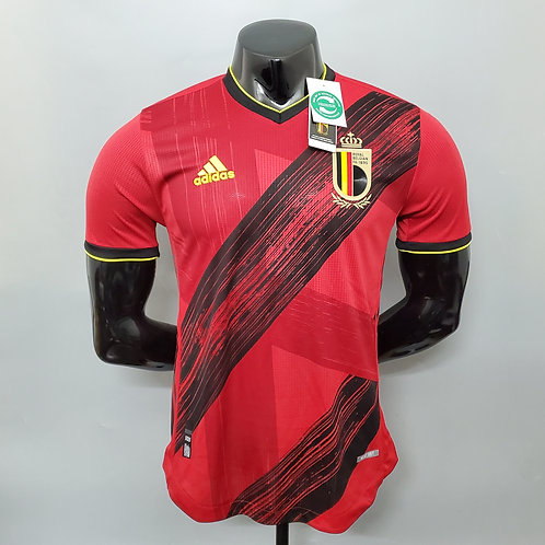 Belgique Maillot Domicile 2020/21 - VERSION PLAYER