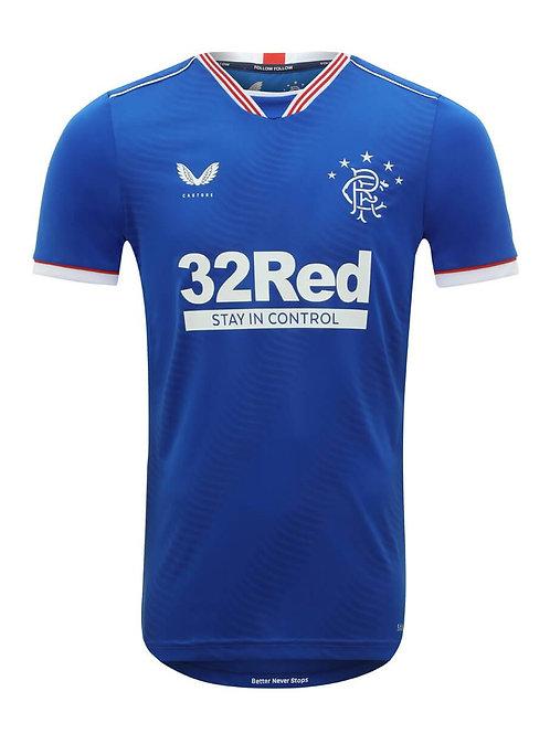 Glasgow Rangers Maillot Domicile 2020/21