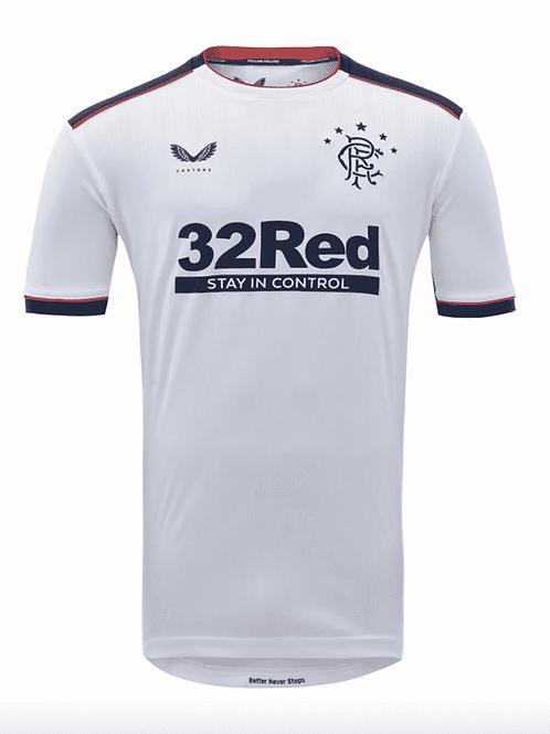 Glasgow Rangers Maillot Extérieur 2020/21