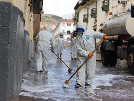 Plan integral de limpieza en Cusco - Covid-19