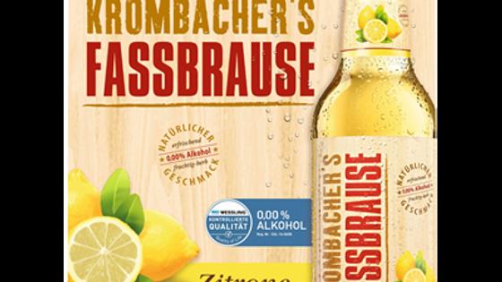 Krombacher Fassbrause Zitrone